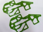 BLADE 500 GREEN G-10 FRAME SET (1.6mm)
