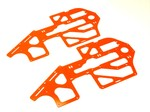 BLADE 500 HIGH VISIBILITY ORANGE G-10 FRAME SET (1.6mm)