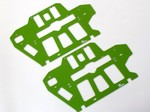 BLADE 550X 600X GREEN G-10 FRAME SET (2.0mm)