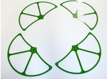 WALKERA QR X350 GREEN G-10 PROPELLER GUARDS