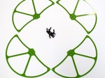 DJI PHANTOM GREEN G-10 PROPELLER GUARDS