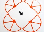 DJI PHANTOM HIGH VISIBILITY ORANGE G-10 PROPELLER GUARDS