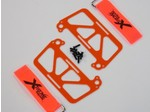 DJI PHANTOM VISIBILITY ORANGE G-10 DUAL BATTERY MOUNT