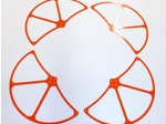 WALKERA QR X350 HIGH VISIBILITY ORANGE G-10 PROPELLER GUARDS