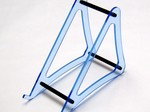 XTREME LARGE BLUE ACRYLIC CHARGER STAND