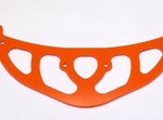 ALIGN T-REX 700 HIGH VISIBILITY ORANGE G-10 TAIL BOOM FIN